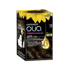 Garnier Olia Dark Brown 4.0 Hair Colour 1pk
