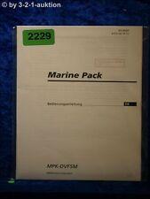 Sony Bedienungsanleitung MPK DVF5M Marine Pack (#2229)