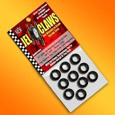 1/64 HO Scale AFX Slot Car Tires 10pk Fits SRT, Mega G, Tomy AFX Turbo - Rears