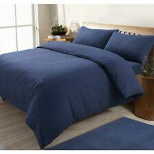 SLEEPDOWN DARK BLUE KING SIZE DUVET SET 1 Duvet Cover - 2 Pillowcases