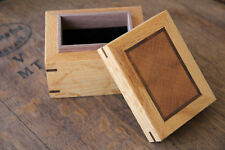 Ring Wooden Box Custom Made Handmade Engagement Proposal Wedding