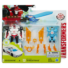 Transformers Robots in Disguise SIDESWIPE and Mini-Con WINDSTRIKE Battle Pack