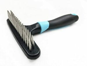 Dog rake deshedding dematting Brush Comb - Undercoat rake for Dogs, Cats,...