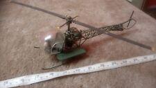 Bell H-13H ambulancia 'MASH' 1/35 escala repuestos o reparación chatarra construido Rara!