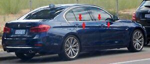 BMW 3 Serie F30 SEDAN Chrome Window Frame Trim (4 pcs) 2011-2018 S.Steel