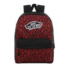 Vans NEW Women's Realm Backpack - Wild Leopard BNWT