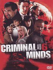 CRIMINAL MINDS - STAGIONE 06 (6 DVD) COFANETTO UNICO, ITALIANO, ORIGINALE