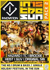 Innovation In The Sun 2015 - Pack 2 - Drum & Bass 6 x CD Pack