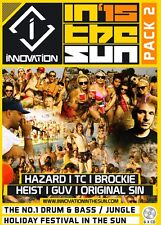 Innovation In The Sun 2015 - Pack 2 - Drum & Bass 6 x CD Pack SALE PRICE