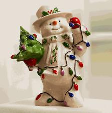 Lenox 2019 Holiday Snowman Figurine