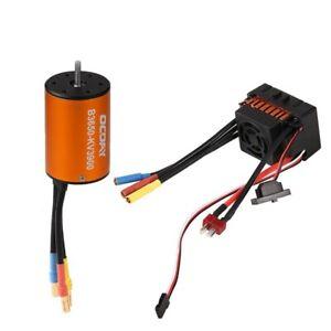 1/10 Rc Car Brushless Esc Motor For Hpi E-Firestorm Blitz Sprint 2 Rs4 Jumpshot