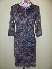 Neues Elegantes Zero Essentials Damen Kleid Gr.34 Mit Blumenprint NEU/OVP