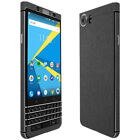 Skinomi TechSkin - Brushed Steel Skin & Screen Protector for Blackberry KEYone