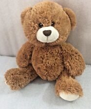 "Teddy Bear brown soft plush 9"" by Steven Smith"