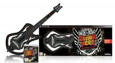 PS3 SA 928 Guitar Hero 6 Warriors of Rock + Gitarre DE/EN mit OVP UNVOLLSTÄNDIG