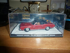 JAMES BOND CARS COLLECTION 021 MERCURY COUGAR ON HER MAJESTYS SECRET SERVICE
