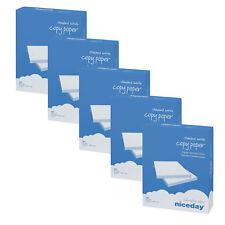 2500 Blatt Premium Kopierpapier DIN A4 80 g/m² Hochweiß Druckerpapier Universal