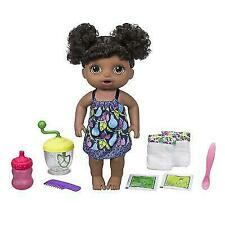 Baby Alive Sweet Spoonfuls Doll Girl-black Hair