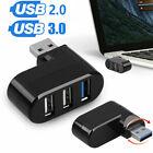 3 Port USB 3.0 / 2.0 Multi HUB Splitter Expansion Desktop PC Laptop Adapter