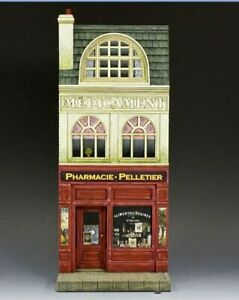 King & Country FRENCH PHARMACIE FACADE SP050 Retired, No reserve!