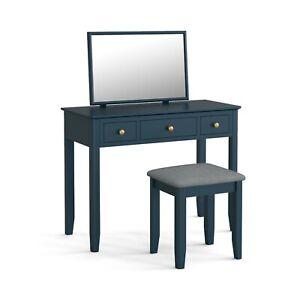 Westbury Blue Dressing Table Set / Modern Painted Vanity Set