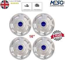 "A set of 4 of 16"" Inc Wheel Trim Hub Cap Cover Fits Ford Transit Mk6 Mk7 2006-14"