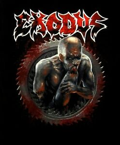 EXODUS cd lgo SALT THE WOUND Official SHIRT LRG New blood in blood out OOP