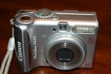 Canon Powershot A540 Digital Camera - Silver