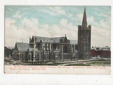 St Patricks Cathedral Dublin Vintage Postcard Ireland 336a