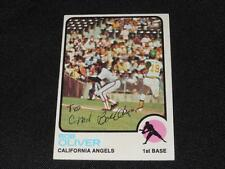 California Angels Bob Oliver Signed 1973 Topps Autograph Card #289  TOUGH  916