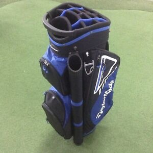 TaylorMade TM19 Select LX Cart Bag -  14 Hole Top - Putter Well - Cooler Pocket