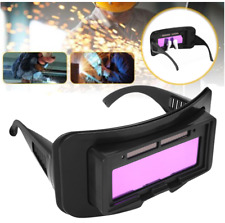 Industrial Welding Goggle Lenses Welding Equipment Protective Gear Auto Dimming