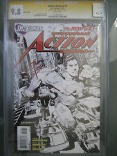 Action Comics #1 Sketch Variant CGC Graded 9.8 SS **Signed Rags Morales** New 52