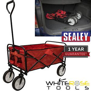 Sealey Canvas Trolley 70kg Capacity Folding