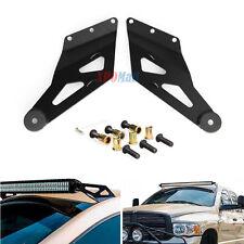 Straight LED Light Bar Roof Bracket For Dodge Ram 1500 2500 3500 3M Warranty