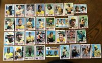 1982 PITTSBURGH PIRATES Topps COMPLETE MLB Team Set 33 Cards STARGELL PARKER !