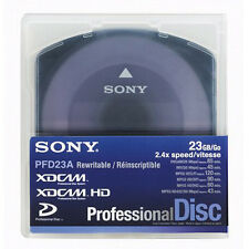 Sony PFD23 XDCAM 23GB Disc. 10x Pack /Re Formatted