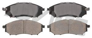 Disc Brake Pad Set-Base Front ADVICS AD0888