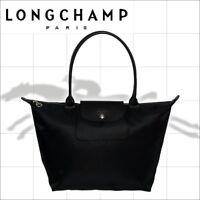 Longchamp Le Pliage Neo 1899 Tote Nylon Handbag Shopping Bag Size Small & Large