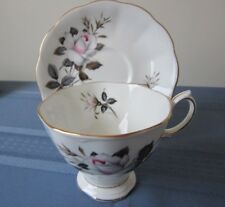 ROYAL ALBERT CUP & SAUCER QUEENS MESSENGER