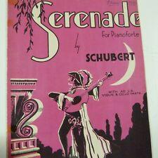 SCHUBERT / STEPHEN HELLER serenade , paxton