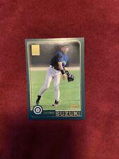2001 Topps Ichiro Suzuki #726 Baseball Card RC Rookie NM