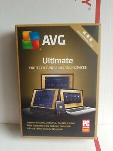 AVG ULTIMATE Unlimited Devices 1 YEAR Mac Window Protect & Tuneup SAME DAY ACCES