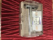 Gillette Super Speed Flare Tip Chrome Plated Safety Razor c1959 in original box