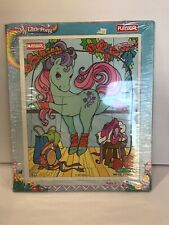 Vtg Sealed MY LITTLE PONY IVY Wooden Puzzle Hasbro Playskool 7 Piece