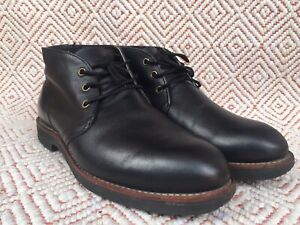 Red Wing FOREMAN 9216 Black Chukka Ankle Boots Size US 9 D || UK 8