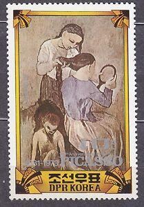 KOREA Pn. 1982 MNH** SC#2145 10ch, Pablo Picasso (1881-1973), Painter,