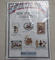 Daisy Kingdom Bear Essentials Collection Iron On Transfer Package Six Transfers