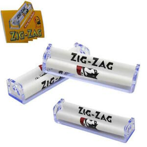 3x Zig Zag KING SIZE New Automatic Tobacco Cigarette Easy Rolling Roller Machine