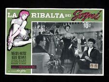 LA RIBALTA DEI SOGNI fotobusta poster Mecha Ortiz Arnova Pájards de cristal U57